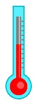 棒狀水銀溫度計