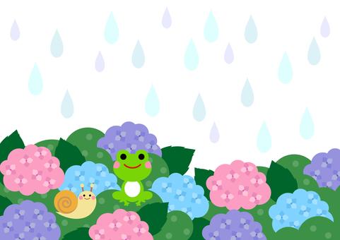 Rainy season image material 43