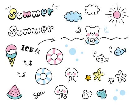 그린 데코 바구니 ☆ 여름 버전 ☆