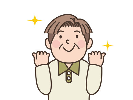 人物/おっちゃん/元気