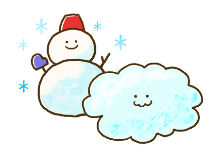 (Weather) Cloudy with occasional snow