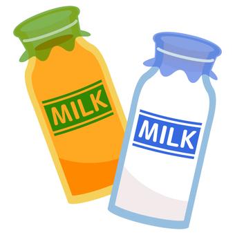 Milk · fruit milk