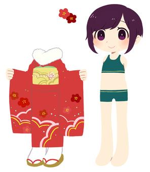 Dress up illustration