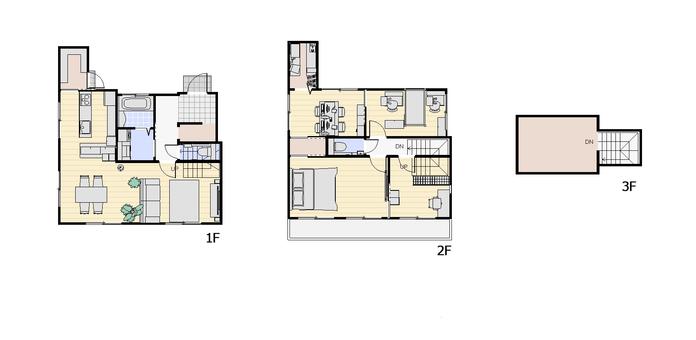 4LDK Floor plan ① (2D plane character nothing)