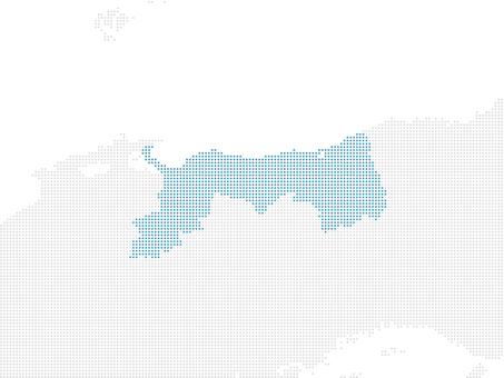 Dot Map Tottori 3 larger version