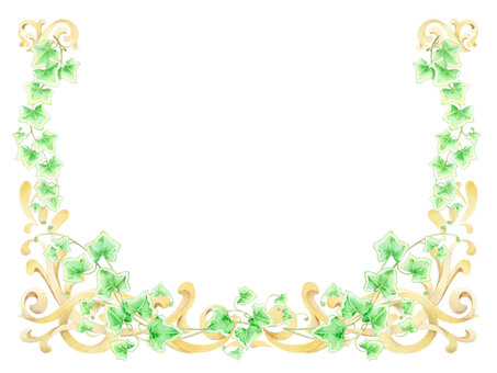 Frame decoration and Ivy ★ 0084-A