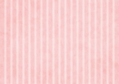 クラフトストライプ〈ピンク〉
