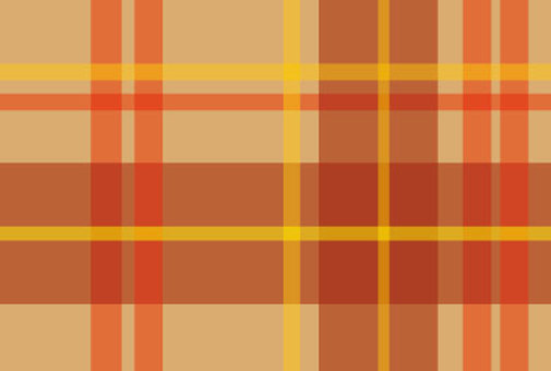 Brown warm tartan check