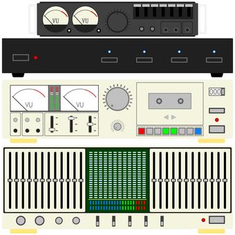 Analog audio equipment