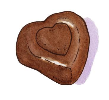 Chocolate Heart 2