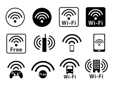 Wi-Fi ア イ コ セ セ ッ ト