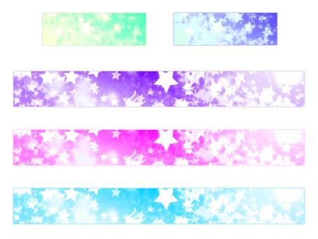 Banner star 001