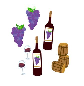 葡萄酒和葡萄酒