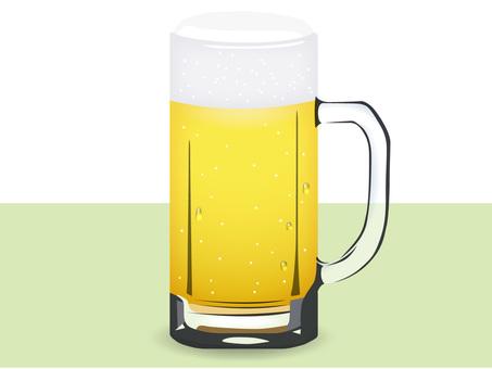 啤酒杯(真正)/插圖