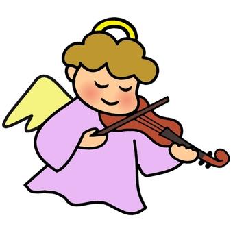 천사 바이올린 컬러