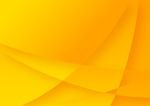 Yellow curve star pattern abstract background material