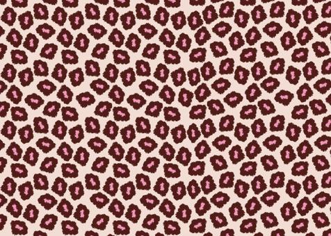 Leopard pattern - Pink