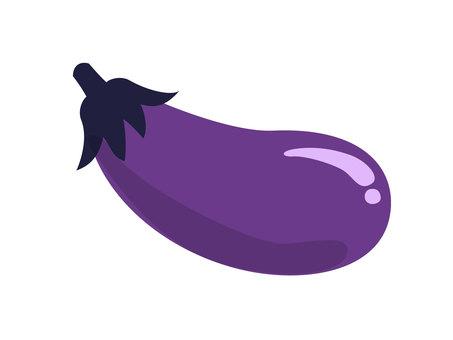 Glutinous eggplant