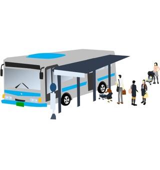 Bus stop (line none)