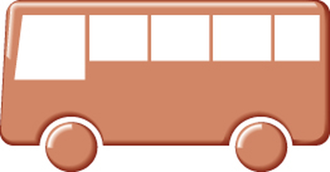 Bus icon red