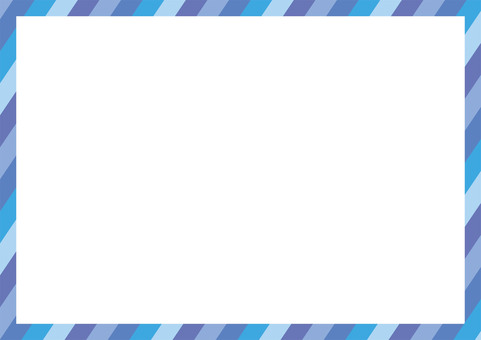 Summer Blue Striped frame frame (wallpaper)