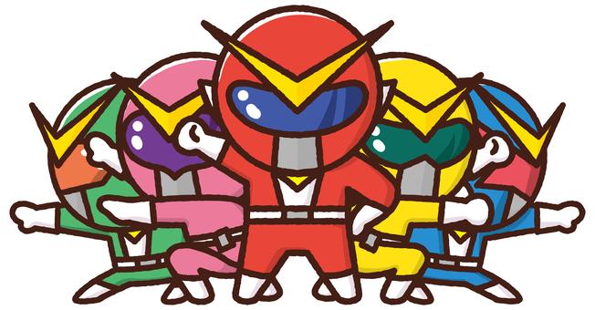 Material Sentai Five Jar <5 people>