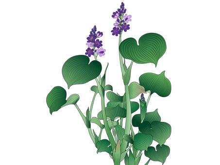 ai Japanese style botanical