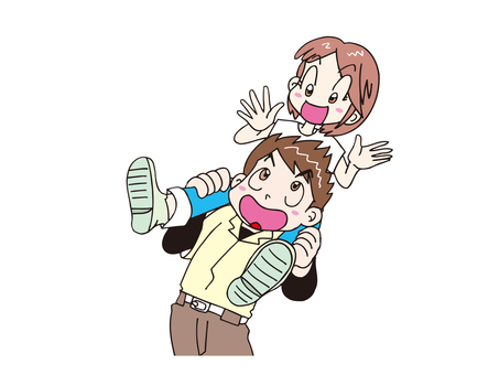 Person who carries shoulder