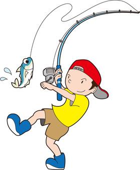Sea fishing kun