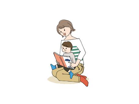 讀一本圖畫書