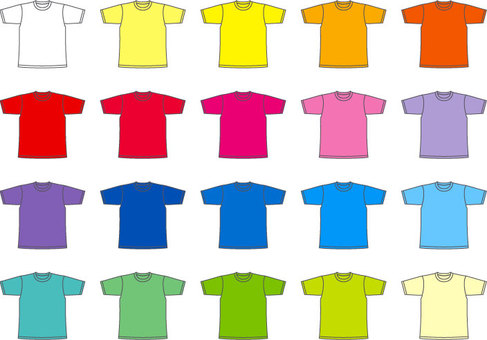 T-shirt colorful