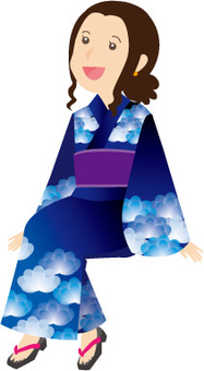 여성 유카타 2