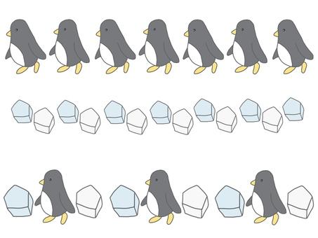 Penguin line material