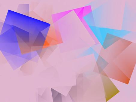 Gentle pink tone, healing image design
