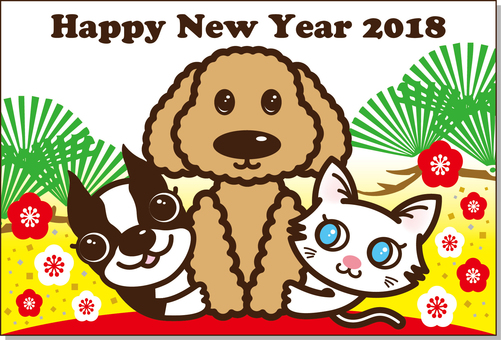 2018 New Year's card 02