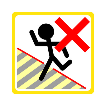 Restricted pictogram