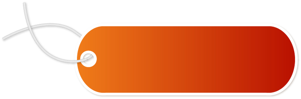Product Tag Orange