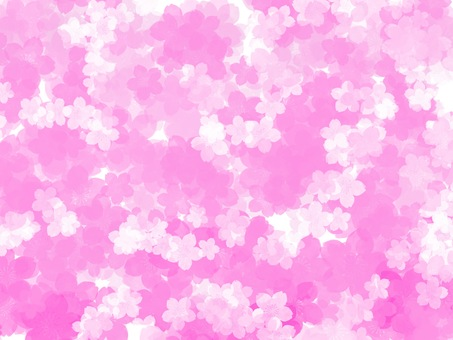 Sakura Pink Origami Wrapping Background Material