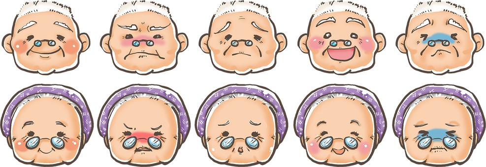 Grandpa and Grandma's emotions pity and pleasure ☆ 彡