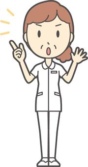 中年女護士白大衣-296-全身