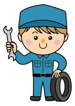 Male 23_06_08 (auto mechanic)