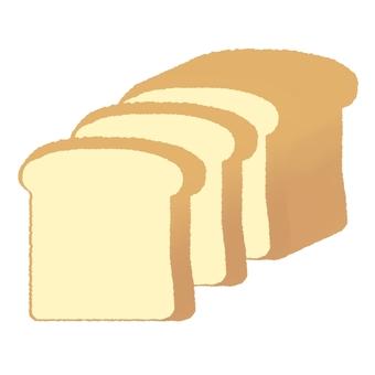 식빵 한 덩어리