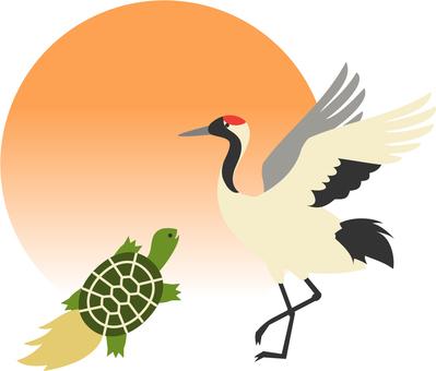 Crane and Tortoise 1