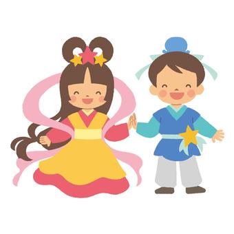 Orihime and Hikoboshi 2