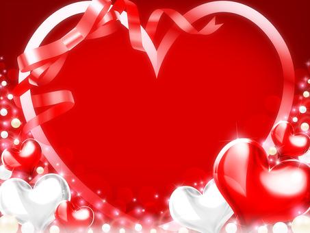 Female · Autumn · Winter · Valentine's Heart Background 4