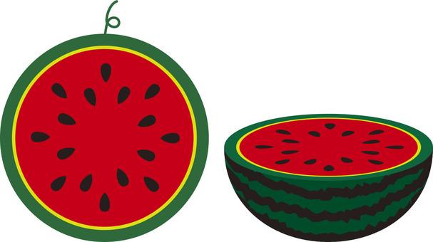 兩個西瓜·西瓜·西瓜