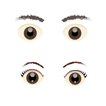 Eyes (male and female)