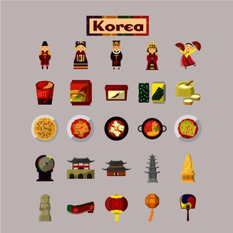Korean illustrations