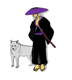 Wolf and Samurai