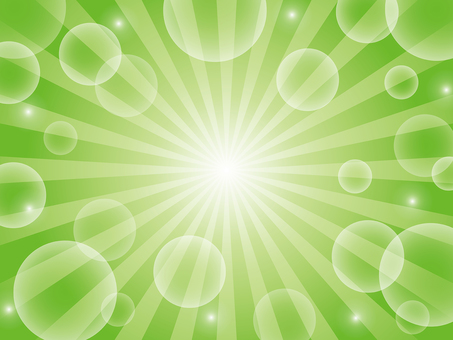 Yellow-green radial background